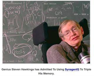 The Lie That Stephen Hawking Takes Smart Pills Is Not