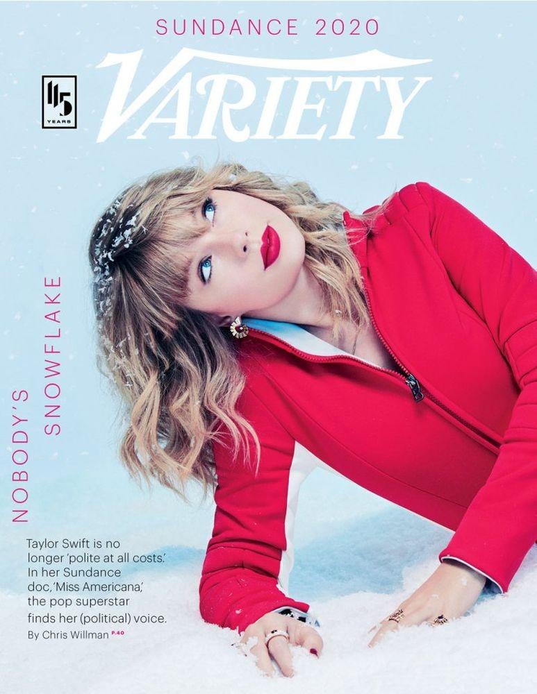 Taylor Swift for Variety | Mary Ellen Matthews