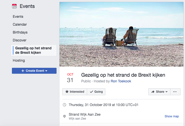 People have been signing up to the beach event on Facebook. (FACEBOOK)