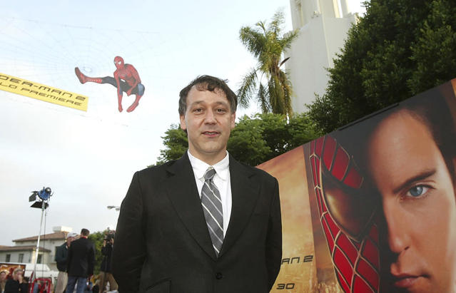 <p>Raimi directed the first three <em>Spider-Man</em> installments, which went on to gross nearly $2.5 billion worldwide. Many fans and critics still consider <em>Spider-Man 2</em> to be the best superhero film ever made. (Photo: Kevin Winter/Getty Images) </p>
