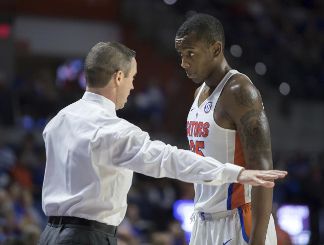 Florida lost its third straight game on Wednesday night, falling to Loyola (Chicago). (AP)