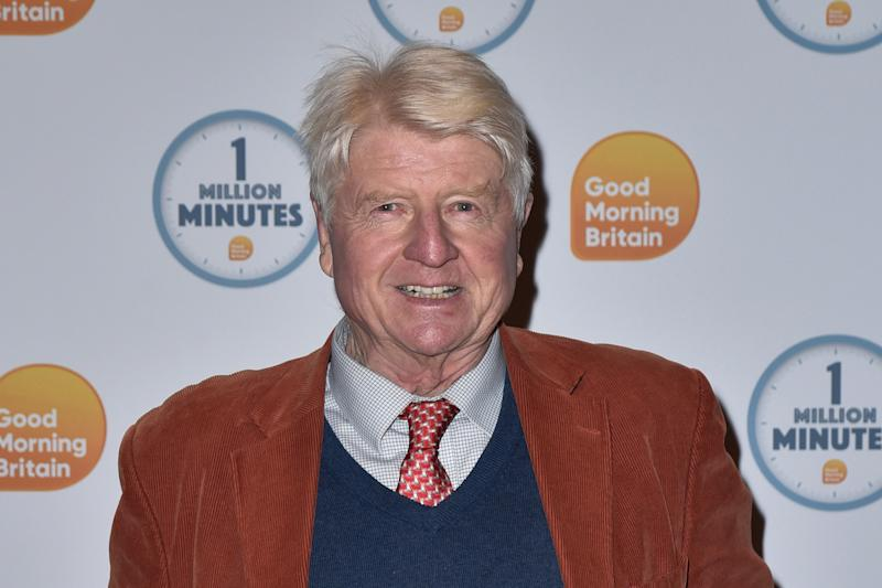 Stanley Johnson attends the Good Morning Britain 1 Million Minutes Awards at Television Centre in London. (Photo by James Warren / SOPA Images/Sipa USA)