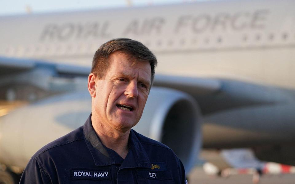 Vice-Admiral Ben Key, Chief of Joint Operations, commanded Operation Pitting, - AFP
