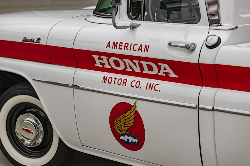 Honda Celebrates 60 Years In America By Restoring … A Chevy Pickup