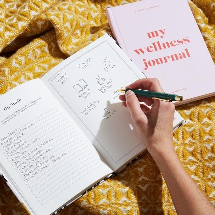 <p>Journaling is great, but do you know what's even better? This dedicated <span>Papier Colorblock Wellness Journal</span> ($32) helps you write down your goals, intentions, and wishes in a clear, concise, visually appealing way. Plus, you can customize it. It's an amazing gift.</p>