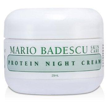 <p>This stuff is so thick it feels like there must be actual proteins that some genius skin scientist injected in here. How it's only $22 is beyond me, but it's a miracle in a tiny little jar.</p> <p><span>Mario Badescu Protein Night Cream</span> ($22)</p>