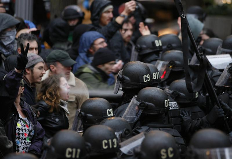 Suit: Police used excessive force in Occupy march