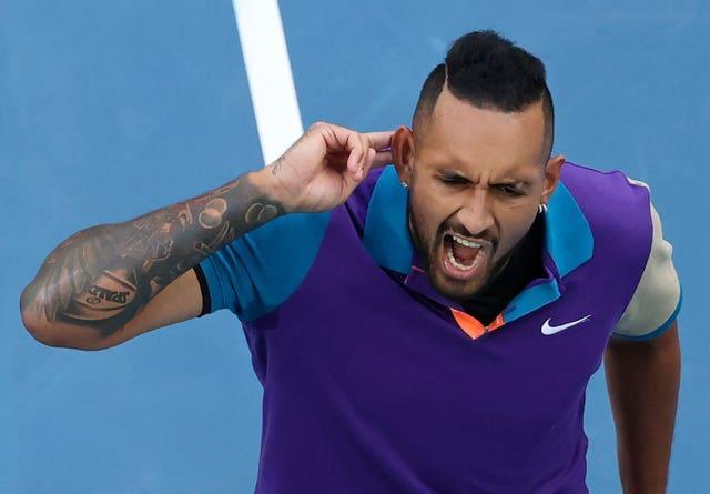 Nick Kyrgios raced into a two-set lead