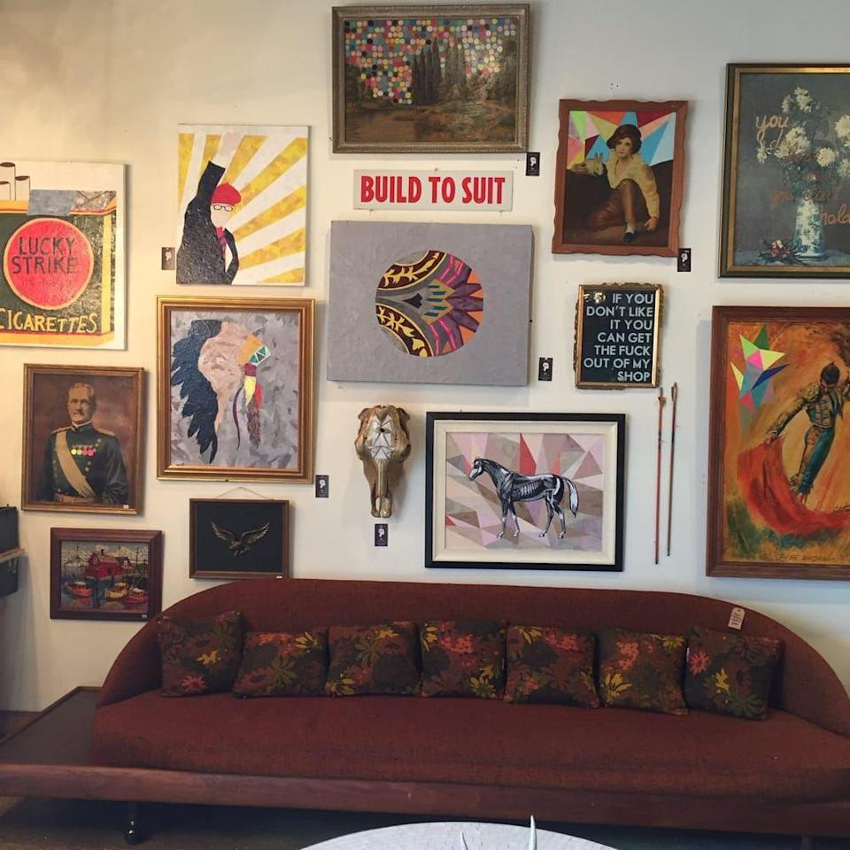 """<p>""""A great selection of vintage clothing, shoes, jewelry, and home wares. The owner was hilarious and very helpful, and the music playing set the perfect scene for some fun-loving treasure huntin'! <a href=""""https://www.yelp.com/biz/old-made-good-nashville"""" rel=""""nofollow noopener"""" target=""""_blank"""" data-ylk=""""slk:Erin W"""" class=""""link rapid-noclick-resp"""">Erin W</a>.</p><p><strong>Visit the store</strong>: 3701B Gallatin Pike, Nashville, TN </p>"""