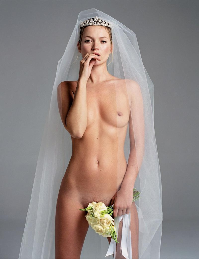 "Kate Moss in ""Kate Moss Special."""