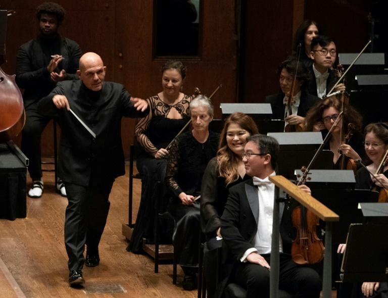 Jaap van Zweden, musical director of New York's famed Philharmonic, shown here in 2018