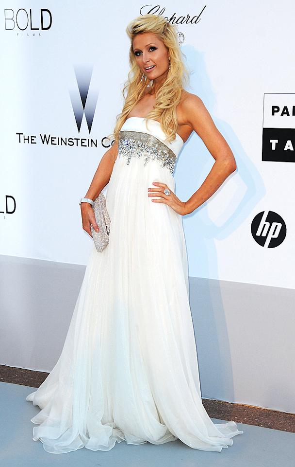 "If Paris Hilton continues to dress like a Barbie doll, will she eventually just turn into plastic? Francois Durand/<a href=""http://www.gettyimages.com/"" target=""new"">GettyImages.com</a> - May 20, 2010"