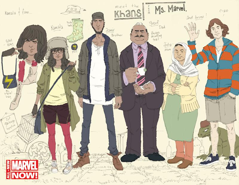 In Marvel Comics, Ms Marvel returns as Muslim teen
