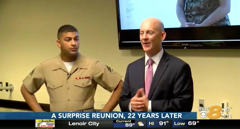 FBI Agent Has Surprise Reunion with Kidnapped Baby He Rescued 22 Years Ago to Celebrate Retirement