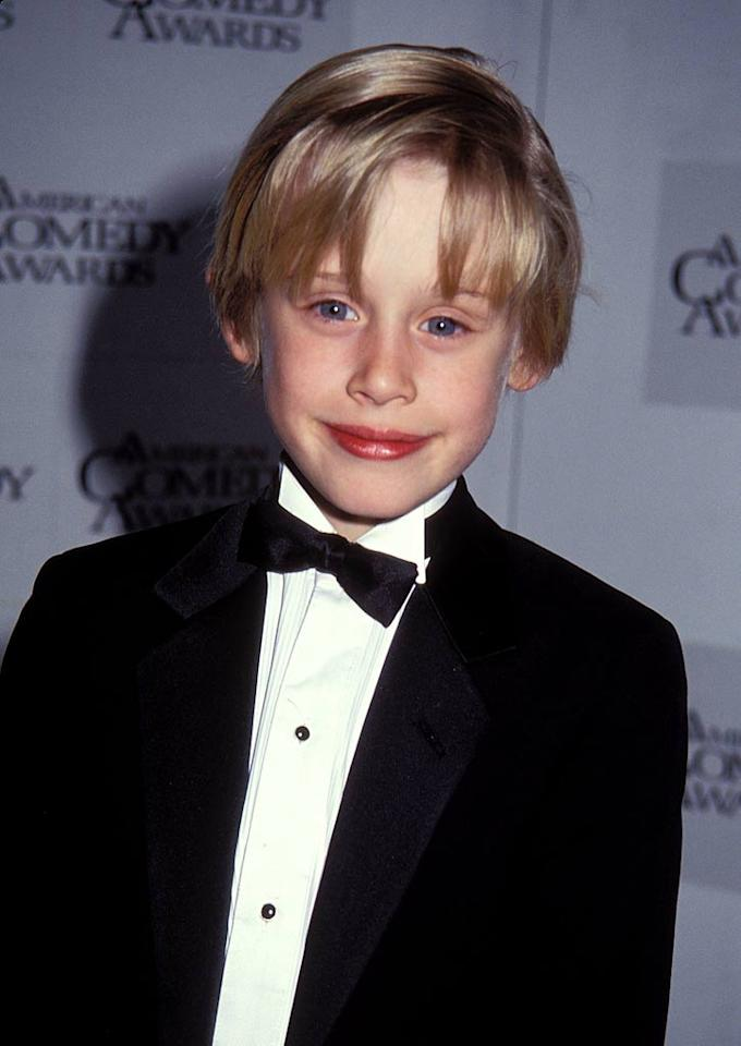 "10-year-old Macaulay Culkin was the most in-demand child star in Hollywood after the box-office success of his 1990 blockbuster hit ""Home Alone."" Barry King/<a href=""http://www.wireimage.com"" target=""new"">WireImage.com</a> - March 9, 1991"