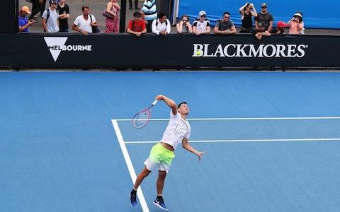 <span>Tomic has lost his appetite for tennis</span> <span>Credit: Getty Images </span>