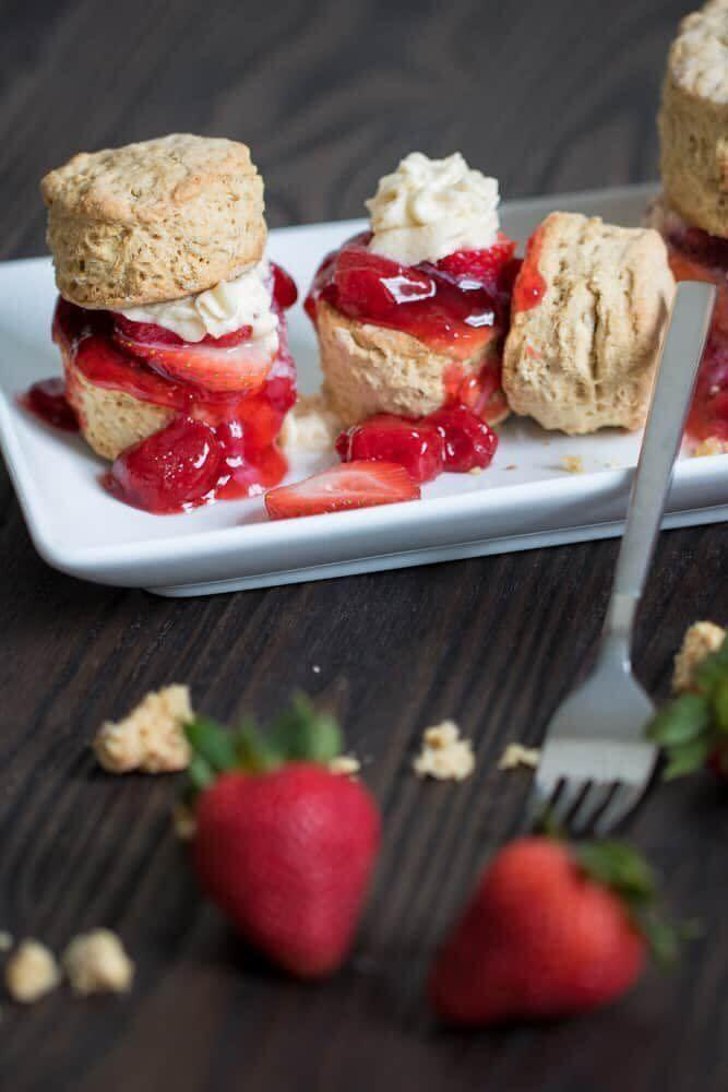 "<a href=""https://www.orchidsandsweettea.com/maple-whole-wheat-oatmeal-strawberry-shortcake/"" rel=""nofollow noopener"" target=""_blank"" data-ylk=""slk:Maple Whole Wheat Oatmeal Strawberry Shortcake from Orchids and Sweet Tea"" class=""link rapid-noclick-resp""><strong>Maple Whole Wheat Oatmeal Strawberry Shortcake from Orchids and Sweet Tea</strong></a>"