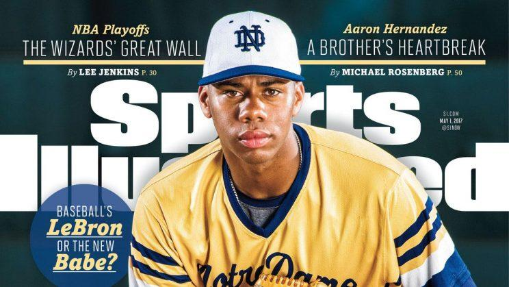 Hunter Greene is only the second high-school baseball player to make the cover of SI. (Sports Illustrated)