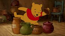 <p>We didn't have to think-think-think too hard before adding AA Milne's honey-loving bear of little brain to this list. (Credit: Disney) </p>