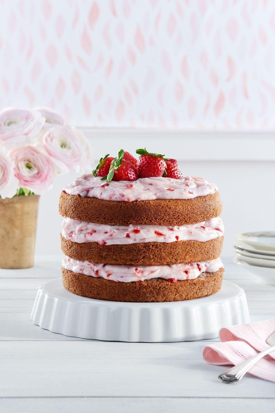 "<p>Treat your Easter guests to a fruity and fresh dessert.</p><p><strong><a href=""https://www.countryliving.com/food-drinks/recipes/a37720/strawberry-limeade-cake-strawberry-cream-cheese-frosting-recipe/"" rel=""nofollow noopener"" target=""_blank"" data-ylk=""slk:Get the recipe"" class=""link rapid-noclick-resp"">Get the recipe</a>.</strong></p>"