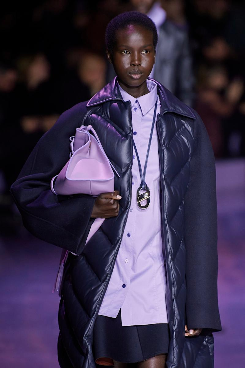 Boss' AW20 show featured lashings of lilac (IMAXtree)