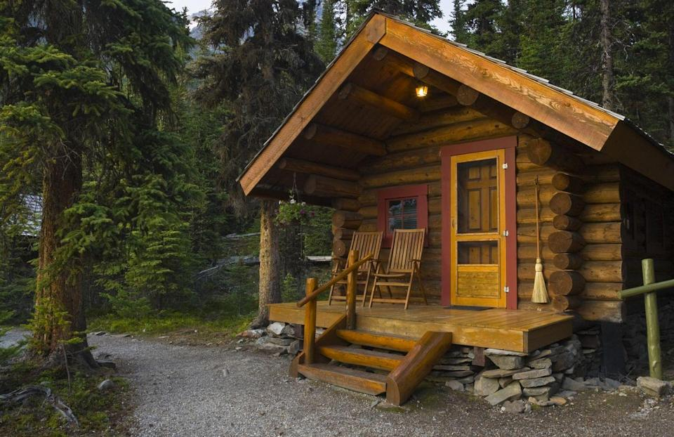 """<p>Whether in the mountains or in the woods, a rustic cabin—complete with fireplace, of course—is one of the quickest paths to feeling like fall is truly in the air. Fire up <a href=""""https://go.redirectingat.com?id=74968X1596630&url=https%3A%2F%2Fwww.airbnb.com&sref=https%3A%2F%2Fwww.oprahmag.com%2Flife%2Fg28340277%2Ffun-fall-activities%2F"""" rel=""""nofollow noopener"""" target=""""_blank"""" data-ylk=""""slk:Airbnb"""" class=""""link rapid-noclick-resp"""">Airbnb</a> to find affordable options in your area.</p>"""