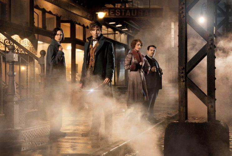Rolling... cameras roll on the sequel to Fantastic Beasts and Where To Find Them (Credit: Warner Bros)
