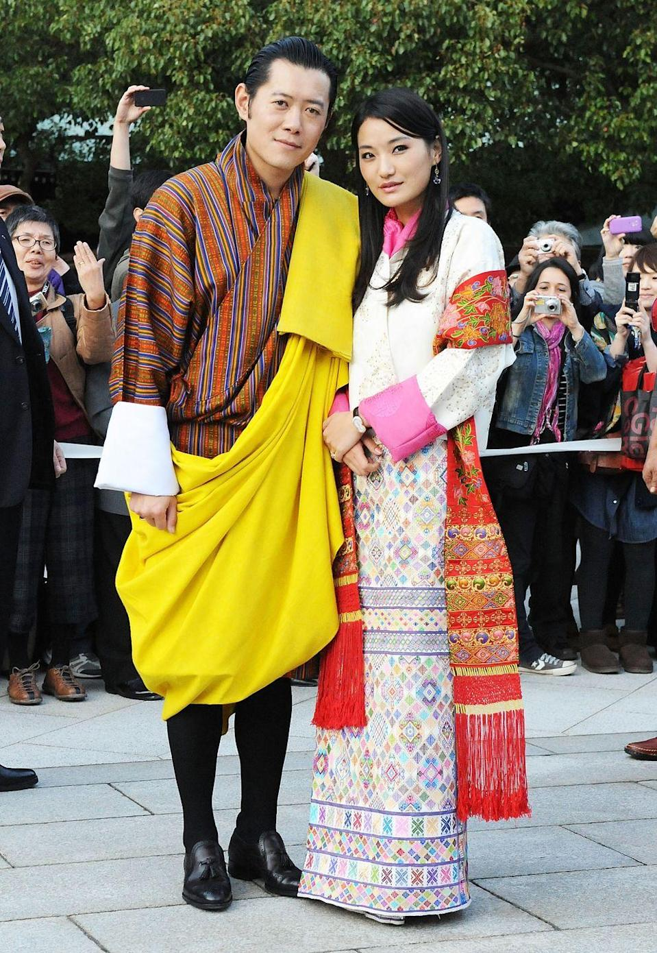 """<p>Jetsun became a queen at age 21 when she married the King of Bhutan in 2011. Before she met the """"Dragon King"""" (a nickname of his), she attended Regent's College in London, studying international relations, psychology, and art history. They share the experience of British schooling, as the king attended Oxford for his studies. </p>"""