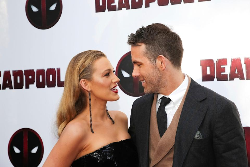 Blake Lively and Ryan Reynolds shared a photo of their newborn.