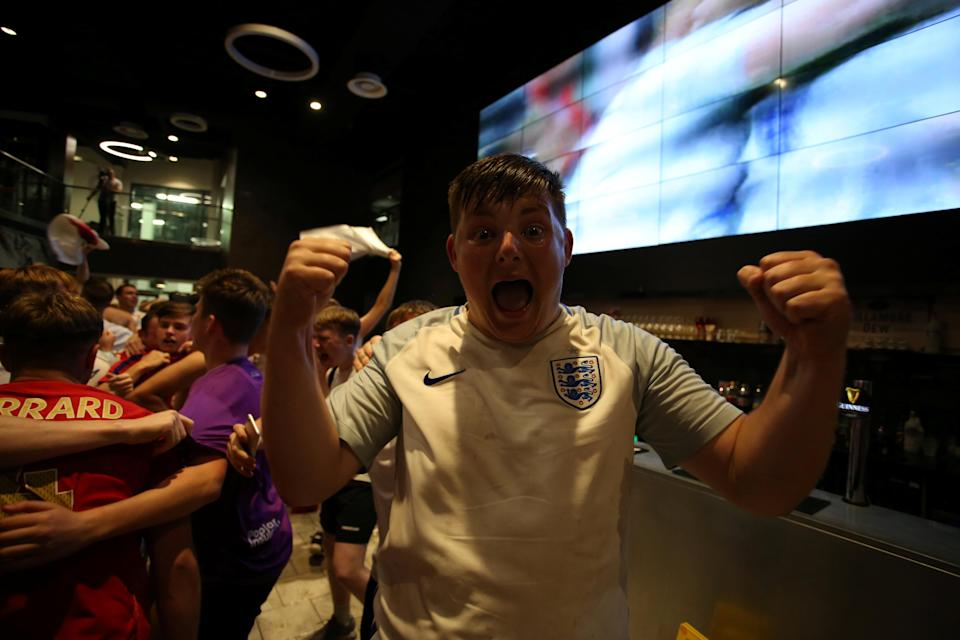 <p>The win has broken what many saw as England's curse of penalty shootouts. (Picture: SWNS) </p>