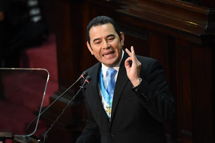Guatemala President Jimmy Morales has targeted anti-corruption investigators and a United Nations-backed investigative body after it raised allegations against him. (Photo: EFE)