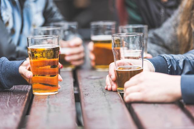 Beer is most likely to make you feel relaxed. (Photo: Getty Images)