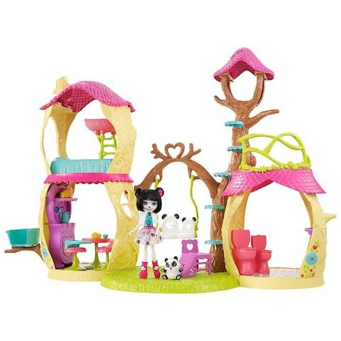 Enchantimals Playhouse Panda Set from Mattel