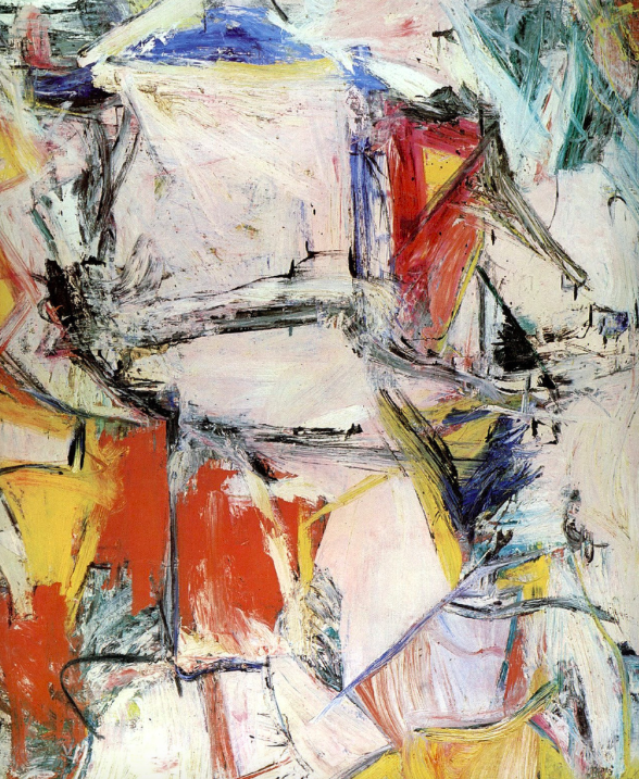<p>2. Interchange – Willem de Kooning (1954). Sold for: £244.3m. The former most expensive painting in the world was sold to hedge fund manager Kenneth C. Griffin in 2015 in a private sale. (Pic: Wiki Commons) </p>