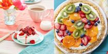 """<p>There are so many great ways to celebrate Mom on Mother's Day: You can make her <a href=""""https://www.womansday.com/food-recipes/g2947/breakfast-in-bed/"""" rel=""""nofollow noopener"""" target=""""_blank"""" data-ylk=""""slk:breakfast in bed"""" class=""""link rapid-noclick-resp"""">breakfast in bed</a>, <a href=""""https://www.womansday.com/life/g3234/diy-gifts-mom/"""" rel=""""nofollow noopener"""" target=""""_blank"""" data-ylk=""""slk:craft a DIY gift for her"""" class=""""link rapid-noclick-resp"""">craft a DIY gift for her</a>, or <a href=""""https://www.womansday.com/relationships/family-friends/a50421/what-to-write-in-a-mothers-day-card/"""" rel=""""nofollow noopener"""" target=""""_blank"""" data-ylk=""""slk:send her a card with a thoughtful message"""" class=""""link rapid-noclick-resp"""">send her a card with a thoughtful message</a>. But if she has a big sweet tooth, the best way to celebrate your mama on Mother's Day is probably by baking her a delicious dessert.</p><p>Any one of these delicious recipe ideas for <a href=""""https://www.womansday.com/mothers-day/"""" rel=""""nofollow noopener"""" target=""""_blank"""" data-ylk=""""slk:Mother's Day"""" class=""""link rapid-noclick-resp"""">Mother's Day</a> desserts is sure to end her day on a high note. Stick with baked goods that are easy, like cute cupcakes, healthy cookies, and no-bake tarts — or show off your baking skills with homemade cheesecakes, pies, beignets, and elaborate <a href=""""http://www.womansday.com/food-recipes/g2950/mothers-day-cakes/"""" rel=""""nofollow noopener"""" target=""""_blank"""" data-ylk=""""slk:Mother's Day cake designs"""" class=""""link rapid-noclick-resp"""">Mother's Day cake designs</a>. They might not be as sweet as she is, but we sure do think these Mother's Day treats will be the perfect end to her <a href=""""http://www.womansday.com/food-recipes/g2954/mothers-day-dinner/"""" rel=""""nofollow noopener"""" target=""""_blank"""" data-ylk=""""slk:Mother's Day dinner"""" class=""""link rapid-noclick-resp"""">Mother's Day dinner</a> or <a href=""""https://www.womansday.com/food-recipes/g2237/brunch-recipes/"""" rel=""""nofollow noopener"""" target=""""_b"""