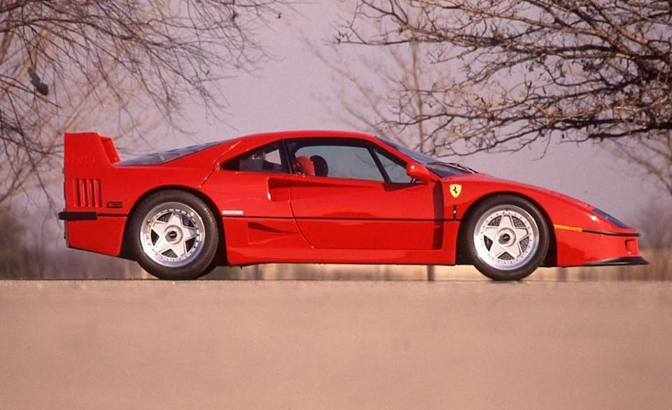<p>Some might argue that the 288GTO should be on this list. After all, the F40 is fundamentally an <em>evoluzione</em> of the 288GTO Evoluzione. But the 288 looked like a 308, and the Evo, well, the Evo was ugly. Conversely, when the F40 dropped as the final project Il Commendatore signed off on before he passed on to the big Alfa racing garage in the sky, it melted faces. It resembled no Ferrari that had come before, and really, no Ferrari that has arrived since. In the interest of lightness, its paint was so thin that you could see the texture of the Kevlar weave beneath. And it had that radical louvered Plexiglas rear window over the engine. </p>