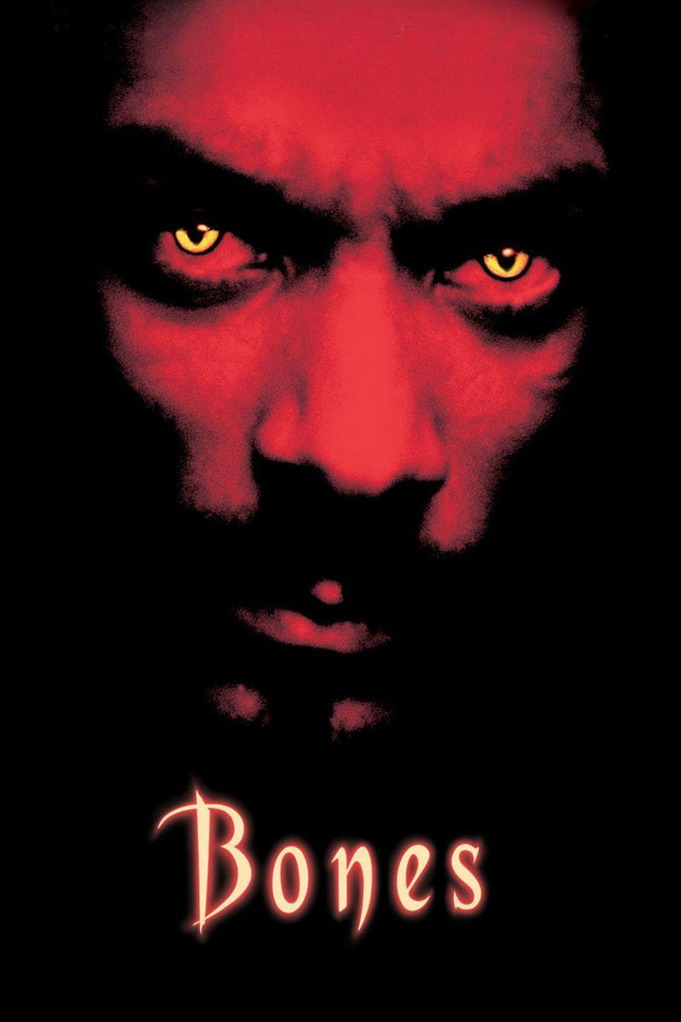 <p>A few other great horror movies came out this year (seriously, how scary was <em>The Others</em>?), but when you have to choose one, you just can't pass up <em>Bones</em>, which features Snoop Dogg as a gangster who rises from the dead to seek revenge on fools who did him wrong.</p>