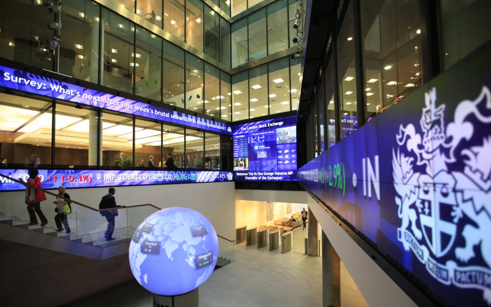 London Stock Exchange. Photo: Andrew Winning/Reuters