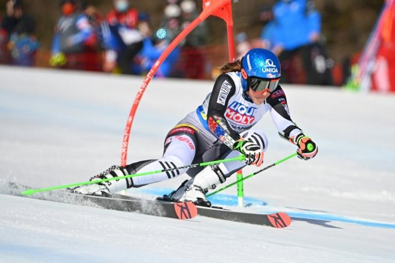 Slovak Petra Vlhova is the overall World Cup leader