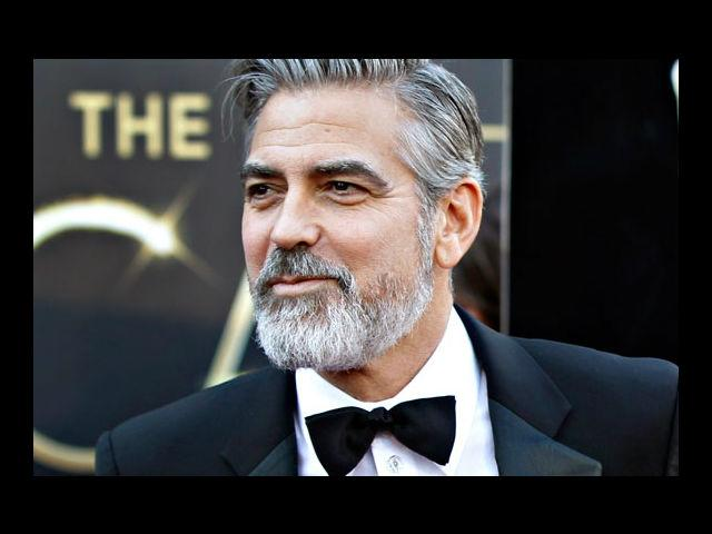 <b>4) George Clooney</b><br>This man is like wine, just gets better with age. And look at that heavy-duty moustache which makes him look more irresistible. Lucky Stacy Keibler!