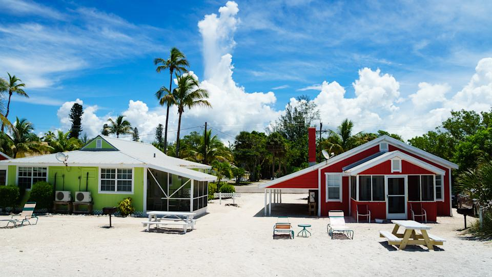 Beach Cottages at Captiva in the Summer - Image.