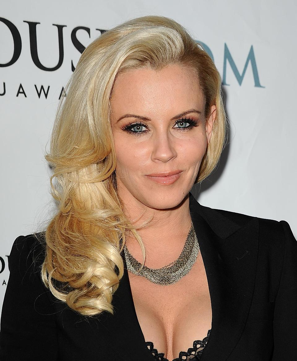 """<div class=""""caption-credit""""> Photo by: (Photo by Jason LaVeris/FilmMagic)</div>""""I go every two months,"""" Jenny McCarthy revealed in an interview with <i>People Magazine</i> . """"My tricks are, I get <a rel=""""nofollow noopener"""" href=""""http://yhoo.it/IlTCJ3"""" target=""""_blank"""" data-ylk=""""slk:Botox"""" class=""""link rapid-noclick-resp"""">Botox</a> in my forehead -I just have my doctor do a little shot there...I believe in just a little bit. It allows you to keep that mobility in your face. It's a great little secret."""""""