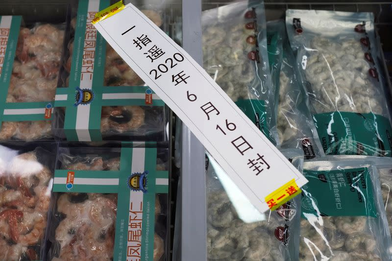 China suspends imports of Ecuador shrimp on coronavirus risk