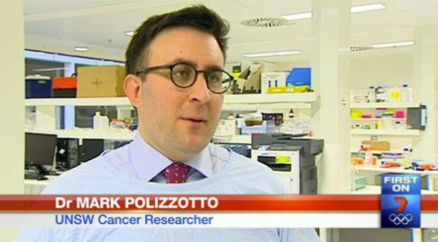 Dr Mark Polizzotto told 7 News about the upcoming research. Source: 7 News.
