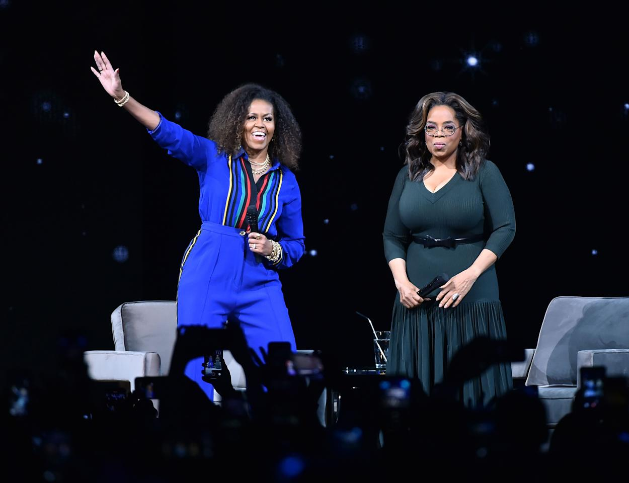 <p>As the former First Lady of the United States launches both her book and podcast, we look back at some of her wardrobe highlights. Whether she is promoting women's education in Asia or taking a casual stroll through Tribeca, dressed in a smart trouser suit or a floaty white summer dress, Mrs Obama is consistently elegant and chic. </p>