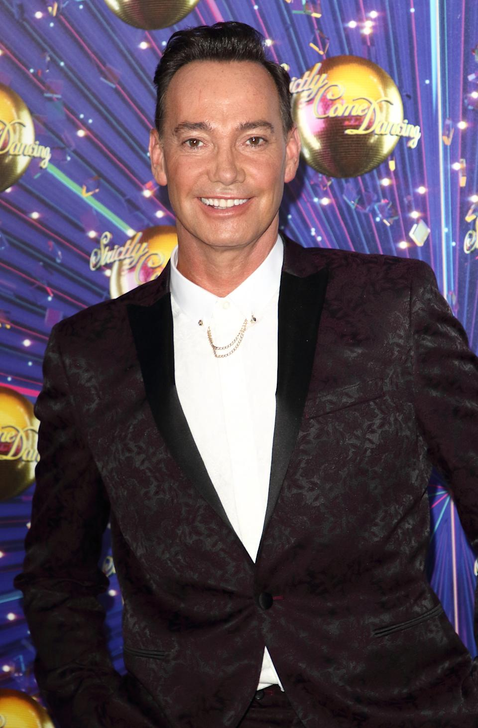 Craig Revel Horwood at the Strictly Come Dancing Launch at BBC Broadcasting House in London. (Photo by Keith Mayhew / SOPA Images/Sipa USA)