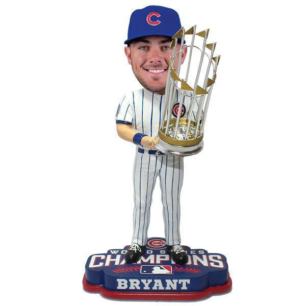 "This photo bobblehead of <a class=""link rapid-noclick-resp"" href=""/mlb/players/9558/"" data-ylk=""slk:Kris Bryant"">Kris Bryant</a> is, well, slightly creepy but probably something a Cubs fan would want. (MLB.com)"