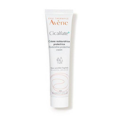 """<h3>Avène Cicalfate+ Restorative Protective Cream </h3> <br>Skin hydration and skin oiliness are two separate issues, meaning even those who are prone to acne will benefit from using a <a href=""""https://www.refinery29.com/en-us/moisturizer-for-oily-skin"""" rel=""""nofollow noopener"""" target=""""_blank"""" data-ylk=""""slk:lightweight moisturizer"""" class=""""link rapid-noclick-resp"""">lightweight moisturizer</a> year-round. Plus, as dermatologist <a href=""""https://www.instagram.com/monagoharadermdoc/"""" rel=""""nofollow noopener"""" target=""""_blank"""" data-ylk=""""slk:Mona Gohara"""" class=""""link rapid-noclick-resp"""">Mona Gohara</a>, MD, explains, if you're wearing a mask, you want to make sure you skin barrier is in the best shape possible. Dr. Gohara recommends Avène's Cicalfate cream, which is featherlight and features a proprietary postbiotic formula that helps repair compromised skin (like, say, from experiencing the rough friction of a disposable face mask).<br><br><strong>Avène</strong> Cicalfate+ Restorative Protective Cream (1.3 fl. oz.), $, available at <a href=""""https://go.skimresources.com/?id=30283X879131&url=https%3A%2F%2Fwww.dermstore.com%2Fproduct_Cicalfate%2BRestorative%2BProtective%2BCream%2B_83647.htm%3Fgclid%3DEAIaIQobChMIxLrStPbe6gIVyCmzAB0BTQ2AEAYYASABEgLGEvD_BwE%26utm_source%3DPaidSearch-GoogleShopping-Google%26utm_campaign%3D9588290594%26utm_medium%3DCPC%26utm_content%3D102666428047%26utm_term%3Dpla-295842132862%26scid%3Dscplp83647%26sc_intid%3D83647"""" rel=""""nofollow noopener"""" target=""""_blank"""" data-ylk=""""slk:DermStore"""" class=""""link rapid-noclick-resp"""">DermStore</a><br>"""