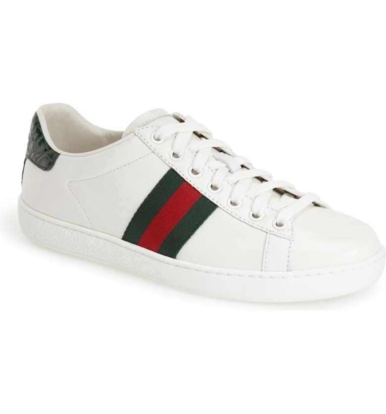 <p>The <span>Gucci New Ace Sneaker</span> ($630) is a classic.</p>