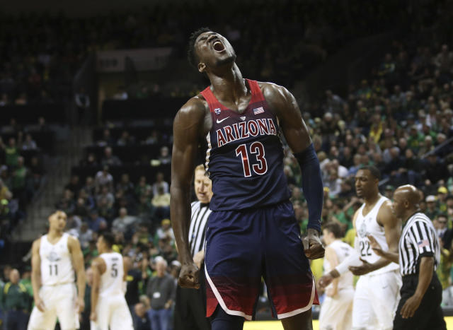 Could you imagine Deandre Ayton joining an NBA team now to help down the stretch? (Getty)